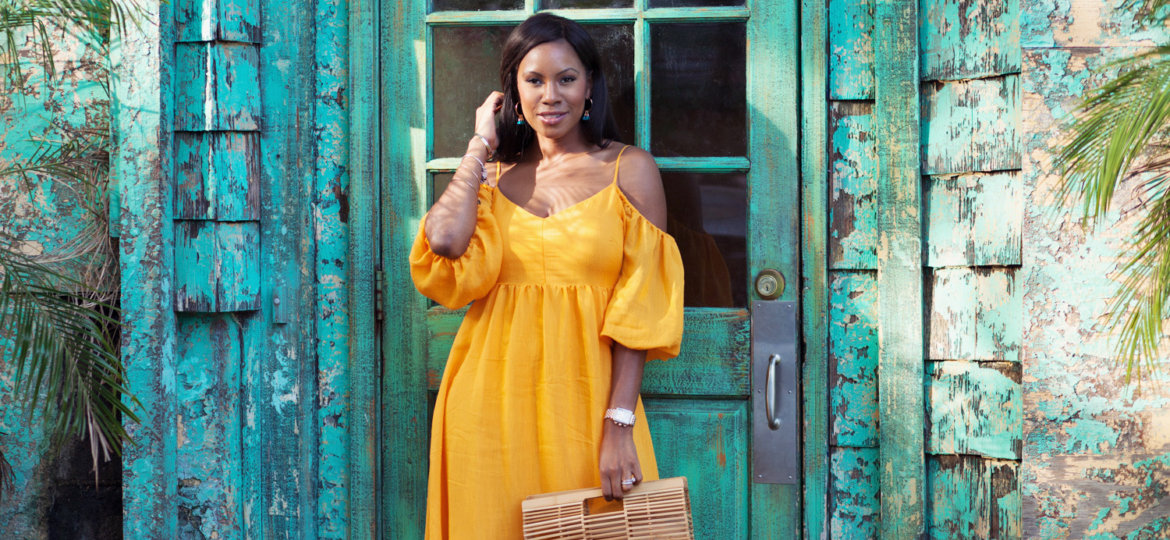vanessa freeman, vanessa freeman host, vanessa freeman tv, vanessa freeman fashion blogger, anthropologie, anthropologie style, fashion blog, summer ootd, fall ootd, summer fashion, fall fashion, soludos espadrilles, nordstrom earrings, nordstrom, nordstrom fashion, cult gaia, cult gaia gaia's ark bag