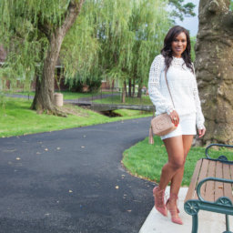 vanessa freeman, vanessa freeman host, vanessa freeman cheddar, vanessa freeman tv host, nessasary style, vanessa freeman blogger, life style xpress, white summer outfit, how to wear white, how to wear a white summer outfit